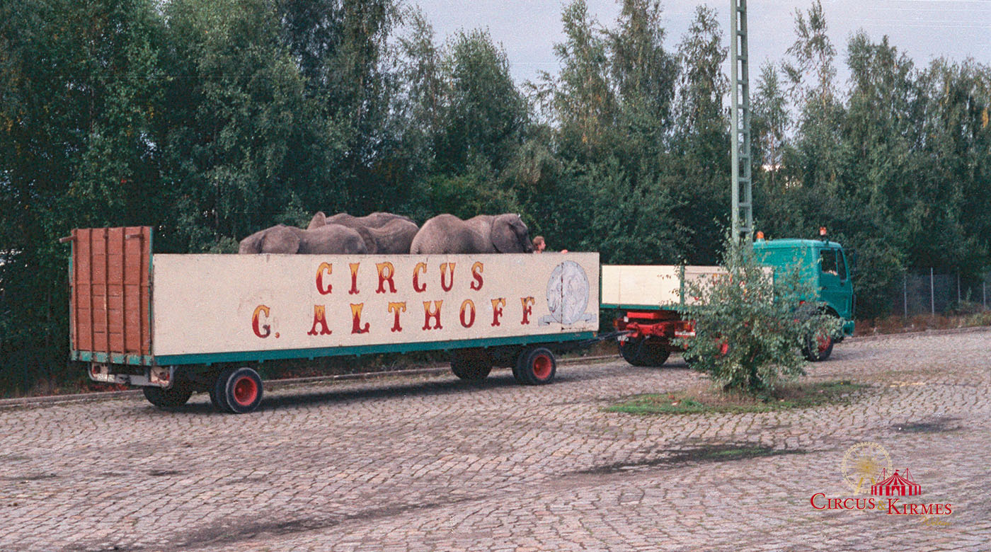 1993 Circus Giovanni Althoff in Salzgitter