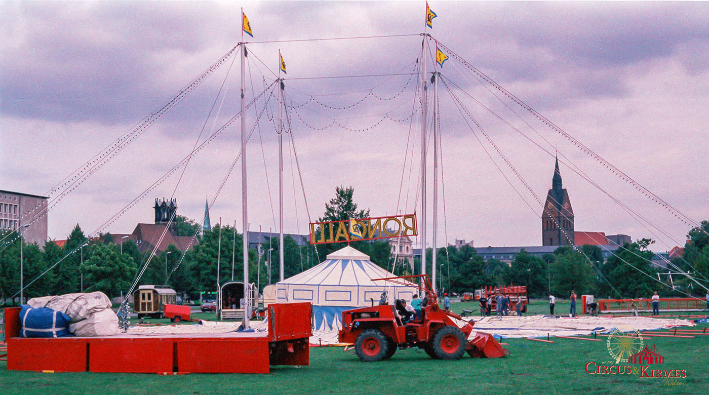 1994 Roncalli Aufbau in Hannover